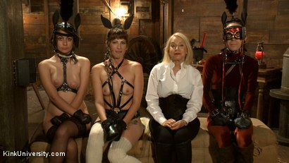 Photo number 20 from Pony Play for the New Pony or New Trainer	 shot for Kink University on Kink.com. Featuring Kay Kardia, SubMiss Ann, Olivia Fawn and Speckles in hardcore BDSM & Fetish porn.