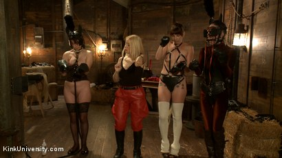 Photo number 8 from Pony Play for the New Pony or New Trainer shot for Kink University on Kink.com. Featuring Kay Kardia, SubMiss Ann, Olivia Fawn and Speckles in hardcore BDSM & Fetish porn.