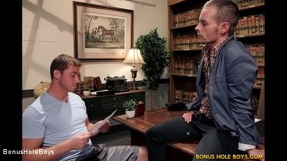 Photo number 1 from Mutual Education shot for Bonus Hole Boys on Kink.com. Featuring Connor Maguire and Kipp Slinger in hardcore BDSM & Fetish porn.