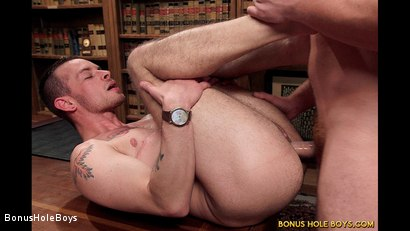 Photo number 9 from Mutual Education shot for Bonus Hole Boys on Kink.com. Featuring Connor Maguire and Kipp Slinger in hardcore BDSM & Fetish porn.