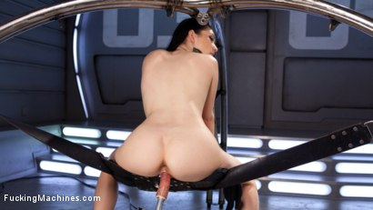 Photo number 10 from Brand New Fresh Meat - Aria Alexander  shot for Fucking Machines on Kink.com. Featuring Aria Alexander in hardcore BDSM & Fetish porn.