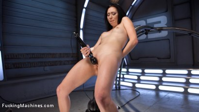 Photo number 4 from Brand New Fresh Meat - Aria Alexander  shot for Fucking Machines on Kink.com. Featuring Aria Alexander in hardcore BDSM & Fetish porn.