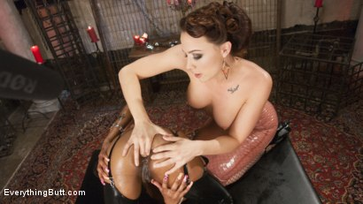 Photo number 2 from Enthusiastic Anal Lover, Caramel Starr is eager to please shot for Everything Butt on Kink.com. Featuring Chanel Preston and Caramel Starr in hardcore BDSM & Fetish porn.