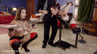 Photo number 15 from Afternoon Delight: Twin Set of Sex Slaves Well Used shot for The Upper Floor on Kink.com. Featuring Dani Daniels, Tommy Pistol and Bella Rossi in hardcore BDSM & Fetish porn.