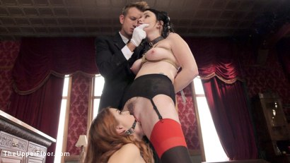 Photo number 3 from Anal Slave on Top shot for The Upper Floor on Kink.com. Featuring Veruca James, Amarna Miller and Bill Bailey in hardcore BDSM & Fetish porn.