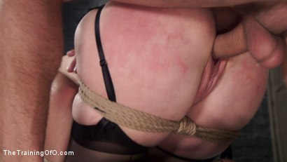 Photo number 1 from Redhead Spanish Slave Training - Amarna Miller Day 3 shot for The Training Of O on Kink.com. Featuring Mr. Pete and Amarna Miller in hardcore BDSM & Fetish porn.