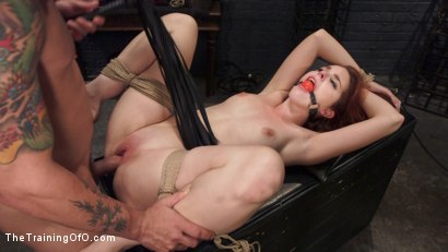 Photo number 11 from Redhead Spanish Slave Training - Amarna Miller Day 3 shot for The Training Of O on Kink.com. Featuring Mr. Pete and Amarna Miller in hardcore BDSM & Fetish porn.