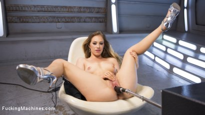 Photo number 6 from Fresh Meat - Long Legged Blonde Gets Ravaged by Fucking Machines shot for Fucking Machines on Kink.com. Featuring Lyra Law in hardcore BDSM & Fetish porn.
