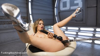 Photo number 9 from Fresh Meat - Long Legged Blonde Gets Ravaged by Fucking Machines shot for Fucking Machines on Kink.com. Featuring Lyra Law in hardcore BDSM & Fetish porn.