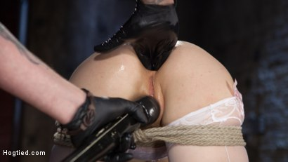 Photo number 7 from Red Headed Anal Queen is Helpless in Grueling Bondage shot for Hogtied on Kink.com. Featuring Penny Pax and The Pope in hardcore BDSM & Fetish porn.