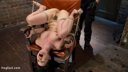 Photo number 5 from Sweet Yhivi is Decimated in Brutal Bondage, Torment, and Screaming Orgasms! shot for Hogtied on Kink.com. Featuring Yhivi and The Pope in hardcore BDSM & Fetish porn.