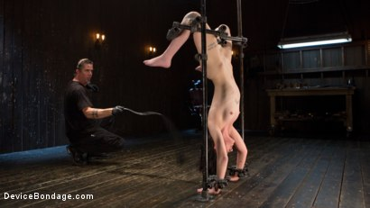 Photo number 6 from Fresh Meat - Charlotte Sartre Suffers and Orgasms in Bondage shot for Device Bondage on Kink.com. Featuring Charlotte Sartre and The Pope in hardcore BDSM & Fetish porn.