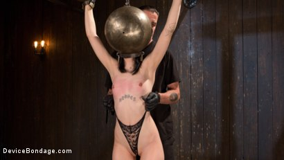 Photo number 2 from Fresh Meat - Charlotte Sartre Suffers and Orgasms in Bondage shot for Device Bondage on Kink.com. Featuring Charlotte Sartre and The Pope in hardcore BDSM & Fetish porn.