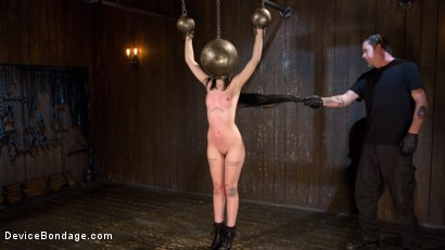 Photo number 4 from Fresh Meat - Charlotte Sartre Suffers and Orgasms in Bondage shot for Device Bondage on Kink.com. Featuring Charlotte Sartre and The Pope in hardcore BDSM & Fetish porn.