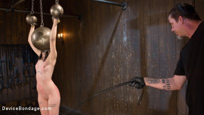 Photo number 5 from Fresh Meat - Charlotte Sartre Suffers and Orgasms in Bondage shot for Device Bondage on Kink.com. Featuring Charlotte Sartre and The Pope in hardcore BDSM & Fetish porn.