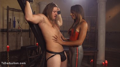 Photo number 11 from Latex Honey Creampie shot for TS Seduction on Kink.com. Featuring Honey FoXXX and Kip Johnson in hardcore BDSM & Fetish porn.