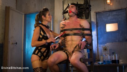Photo number 9 from Hellraiser Felony Returns to Divine Bitches! shot for Divine Bitches on Kink.com. Featuring Felony and Jonah Marx in hardcore BDSM & Fetish porn.