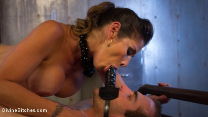Photo number 23 from Hellraiser Felony Returns to Divine Bitches! shot for Divine Bitches on Kink.com. Featuring Felony and Jonah Marx in hardcore BDSM & Fetish porn.
