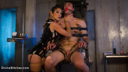 Photo number 7 from Hellraiser Felony Returns to Divine Bitches! shot for Divine Bitches on Kink.com. Featuring Felony and Jonah Marx in hardcore BDSM & Fetish porn.