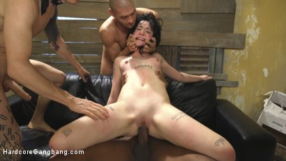 Photo number 5 from Mommy's Little 19 Year Old Whore shot for Hardcore Gangbang on Kink.com. Featuring Charlotte Sartre, Jon Jon, Xander Corvus, Owen Gray, Tommy Pistol and Mark Wood in hardcore BDSM & Fetish porn.