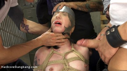 Photo number 2 from Mommy's Little 19 Year Old Whore shot for Hardcore Gangbang on Kink.com. Featuring Charlotte Sartre, Jon Jon, Xander Corvus, Owen Gray, Tommy Pistol and Mark Wood in hardcore BDSM & Fetish porn.
