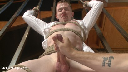 Photo number 5 from Mormon Missionary takes two dildos in his innocent ass shot for Men On Edge on Kink.com. Featuring Jack Redmond in hardcore BDSM & Fetish porn.