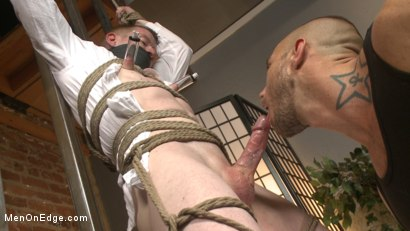 Photo number 9 from Mormon Missionary takes two dildos in his innocent ass shot for Men On Edge on Kink.com. Featuring Jack Redmond in hardcore BDSM & Fetish porn.
