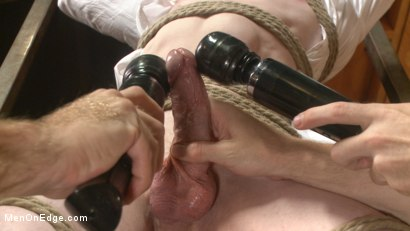 Photo number 4 from Mormon Missionary takes two dildos in his innocent ass shot for Men On Edge on Kink.com. Featuring Jack Redmond in hardcore BDSM & Fetish porn.