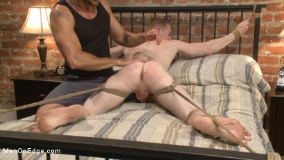 Photo number 11 from Mormon Missionary takes two dildos in his innocent ass shot for Men On Edge on Kink.com. Featuring Jack Redmond in hardcore BDSM & Fetish porn.