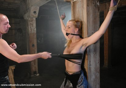 Photo number 2 from Annette Schwarz and Chris Charming shot for Sex And Submission on Kink.com. Featuring Annette Schwarz and Chris Charming in hardcore BDSM & Fetish porn.