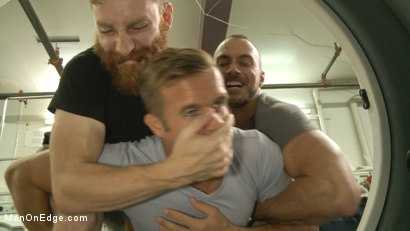 Photo number 1 from Cute guy overpowered and edged in the laundromat shot for Men On Edge on Kink.com. Featuring Connor Patricks in hardcore BDSM & Fetish porn.