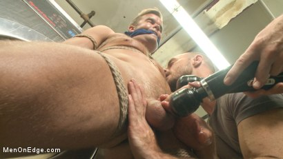 Photo number 7 from Cute guy overpowered and edged in the laundromat shot for Men On Edge on Kink.com. Featuring Connor Patricks in hardcore BDSM & Fetish porn.