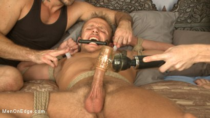 Photo number 12 from Bi southern hunk gets his first edging in bondage shot for Men On Edge on Kink.com. Featuring Rob Ryder in hardcore BDSM & Fetish porn.