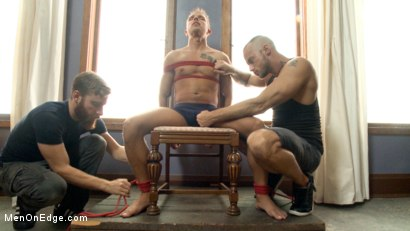 Photo number 1 from Bi southern hunk gets his first edging in bondage shot for Men On Edge on Kink.com. Featuring Rob Ryder in hardcore BDSM & Fetish porn.