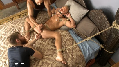 Photo number 9 from Bi southern hunk gets his first edging in bondage shot for Men On Edge on Kink.com. Featuring Rob Ryder in hardcore BDSM & Fetish porn.