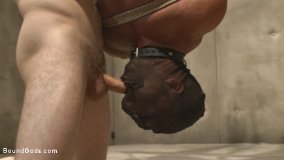 Photo number 11 from The Twisted Doctor's Punishment  shot for Bound Gods on Kink.com. Featuring Wolf Hudson and Micah Brandt in hardcore BDSM & Fetish porn.