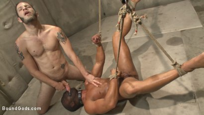 Photo number 14 from The Twisted Doctor's Punishment  shot for Bound Gods on Kink.com. Featuring Wolf Hudson and Micah Brandt in hardcore BDSM & Fetish porn.