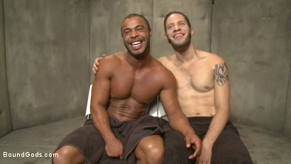 Photo number 15 from The Twisted Doctor's Punishment  shot for Bound Gods on Kink.com. Featuring Wolf Hudson and Micah Brandt in hardcore BDSM & Fetish porn.