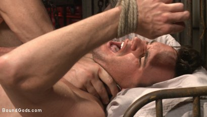 Photo number 10 from The Submission of BJ Adia shot for Bound Gods on Kink.com. Featuring Beau Reed and Trenton Ducati in hardcore BDSM & Fetish porn.