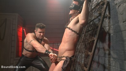 Photo number 1 from The Submission of BJ Adia shot for Bound Gods on Kink.com. Featuring Beau Reed and Trenton Ducati in hardcore BDSM & Fetish porn.