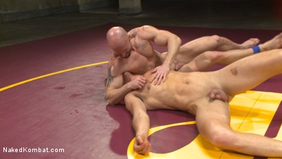 Photo number 15 from Mitch Vaughn vs BJ Adia shot for Naked Kombat on Kink.com. Featuring Mitch Vaughn and Beau Reed in hardcore BDSM & Fetish porn.