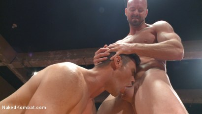 Photo number 9 from Mitch Vaughn vs BJ Adia shot for Naked Kombat on Kink.com. Featuring Mitch Vaughn and Beau Reed in hardcore BDSM & Fetish porn.