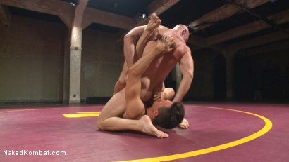 Photo number 4 from Mitch Vaughn vs BJ Adia shot for Naked Kombat on Kink.com. Featuring Mitch Vaughn and Beau Reed in hardcore BDSM & Fetish porn.
