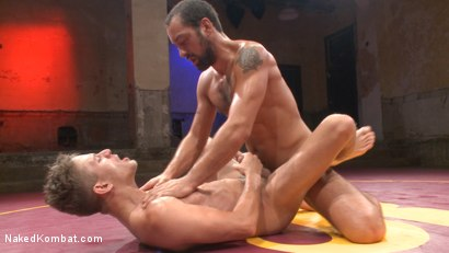 Photo number 13 from Alexander Gustavo takes on DJ shot for Naked Kombat on Kink.com. Featuring DJ and Alexander Gustavo in hardcore BDSM & Fetish porn.