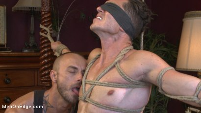 Photo number 11 from Greedy for edging: Tall hunk Logan Stone shoots a load in his own face shot for Men On Edge on Kink.com. Featuring Logan Stone in hardcore BDSM & Fetish porn.