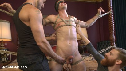 Photo number 9 from Greedy for edging: Tall hunk Logan Stone shoots a load in his own face shot for Men On Edge on Kink.com. Featuring Logan Stone in hardcore BDSM & Fetish porn.