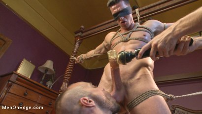 Photo number 10 from Greedy for edging: Tall hunk Logan Stone shoots a load in his own face shot for Men On Edge on Kink.com. Featuring Logan Stone in hardcore BDSM & Fetish porn.