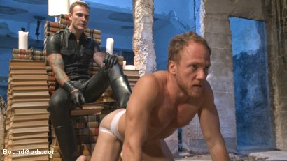 Photo number 2 from Coach Burke's Twisted Fantasy shot for Bound Gods on Kink.com. Featuring Christian Wilde and Chris Burke in hardcore BDSM & Fetish porn.