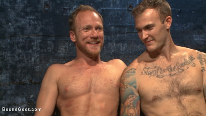 Photo number 15 from Coach Burke's Twisted Fantasy shot for Bound Gods on Kink.com. Featuring Christian Wilde and Chris Burke in hardcore BDSM & Fetish porn.