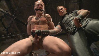 Photo number 6 from Coach Burke's Twisted Fantasy shot for Bound Gods on Kink.com. Featuring Christian Wilde and Chris Burke in hardcore BDSM & Fetish porn.